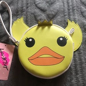 PRINCESS DUCK WRISTLET WALLET!